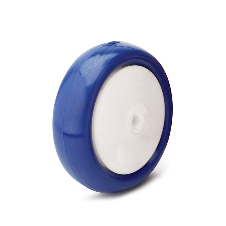 Полипропиленовое колесо с полиуретановой ошиновкой