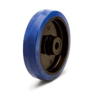 Полипропиленовое колесо с резиновой ошиновкой