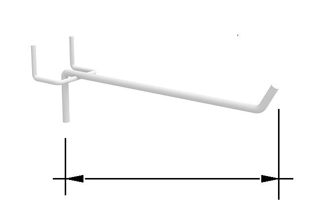 длины крючков
